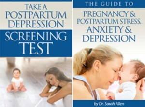 Pregnancy & Postpartum Stress, Anxiety and Depression Guide by Dr. Sarah Allen